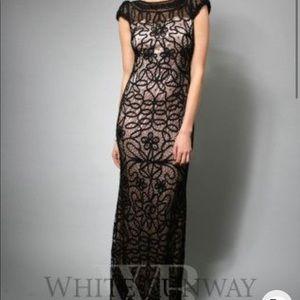 Jadore size 10 black long dress